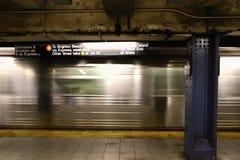 新的地铁约克 免版税库存图片