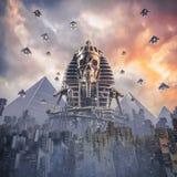 新的埃及的神 免版税图库摄影