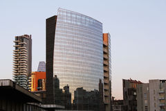 新的城市地平线 免版税库存照片