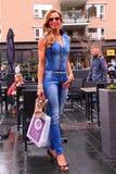 新的夏天街道时尚成套装备 免版税库存图片