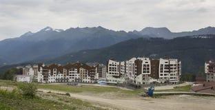 新的大厦在索契 库存照片
