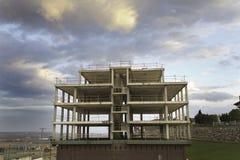 新的大厦的建筑 库存图片