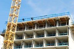 新的大厦 免版税库存照片
