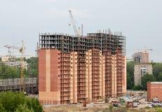 新的大厦 免版税库存图片