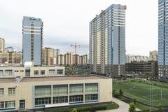 新的大厦 免版税图库摄影