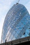 新的大厦underconstruction 库存图片