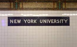 新的大学约克 免版税库存图片