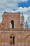 新的大教堂上面 库存图片