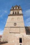 新的大教堂的轰烈的塔 免版税库存照片