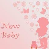 新的婴孩 图库摄影