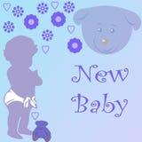 新的婴孩 库存图片