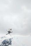 新的学校滑雪 库存照片