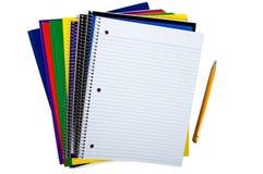 新的学校用品 免版税库存图片