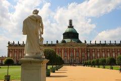 新的宫殿在公园Sanssouci 免版税库存图片