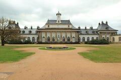 新的宫殿在皮尔尼茨 免版税库存照片