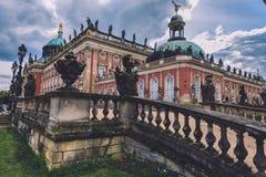 新的宫殿在Sanssouci公园在波茨坦 免版税库存图片