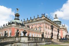 新的宫殿在Sanssouci公园,波茨坦,德国 库存图片