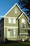 新的家庭之家绿色 免版税库存照片