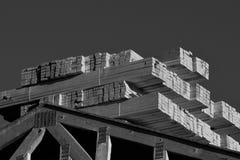 新的家庭在西南的建筑构成建筑 图库摄影