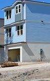 新的家庭建筑在佛罗里达 免版税库存照片