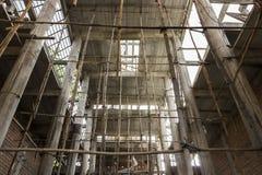 新的寺庙建筑 库存图片