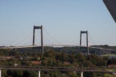 新的小的传送带桥梁 库存图片