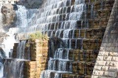 新的巴豆水坝,巴豆在哈德森, NY 库存照片