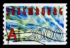 新的年-2000, serie大约 图库摄影
