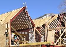 新的建筑 免版税库存图片
