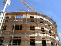 新的建筑 库存图片