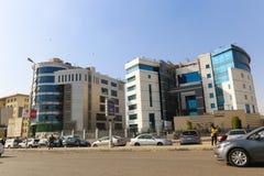新的开罗市 库存图片