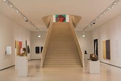 新的当代艺术博物馆内部Staedel博物馆的在法兰克福德国 免版税库存图片