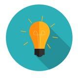 新的想法平的概念传染媒介例证 免版税库存图片