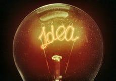 新的想法的概念 免版税库存照片