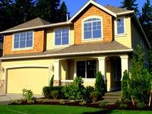 新的房子 免版税库存图片