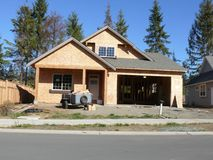 新的房子 库存图片