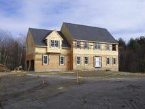 新的房子 图库摄影