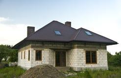 新的房子 库存照片