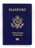 新的护照 免版税图库摄影