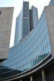 新的摩天大楼在米兰,意大利 库存图片