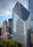 新的摩天大楼老和 图库摄影