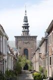 新的教会在哈莱姆,荷兰 免版税图库摄影
