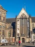 新的教会在阿姆斯特丹 库存图片