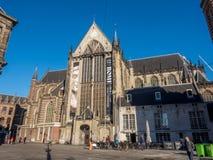新的教会在阿姆斯特丹 图库摄影