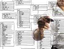 新的数据库 免版税库存图片