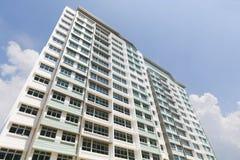 新的新加坡政府公寓 库存图片