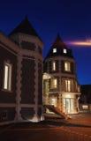 新的旅馆外部 免版税图库摄影