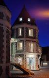 新的旅馆外部 免版税库存图片