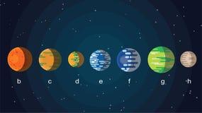 新的星系 免版税库存图片