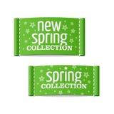 新的春天收藏 免版税库存照片